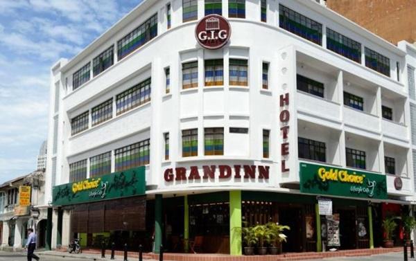 Hotel 2 Bintang di Penang